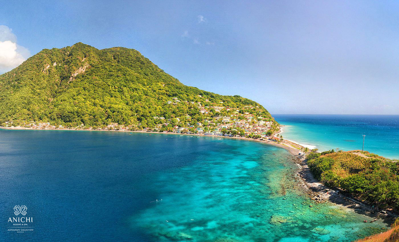 Scotts Head, Dominica - Anichi Resort & Spa