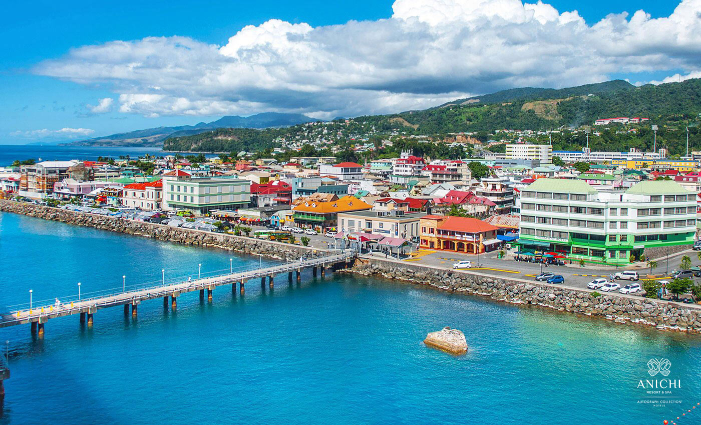 Dominica's Capital City Roseau
