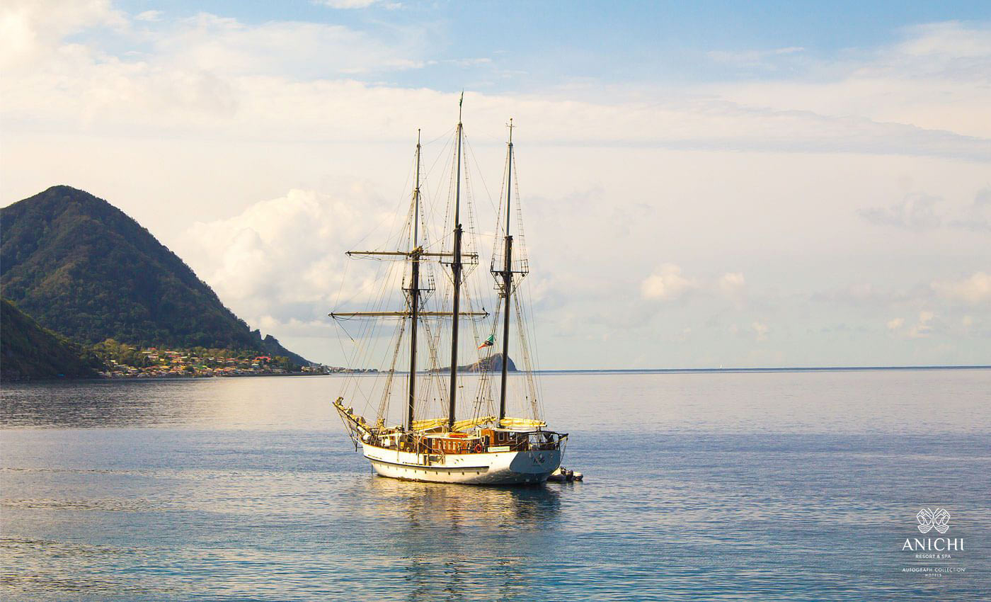 Sail Ship - Dominica Image Gallery - Anichi Resort & Spa