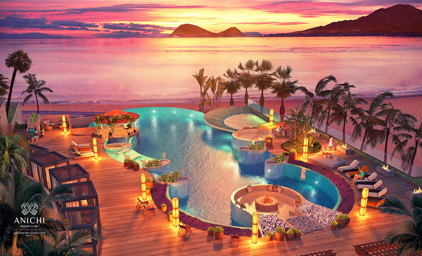 Infinity Pool - Resort rendering of the Anichi Resort & Spa