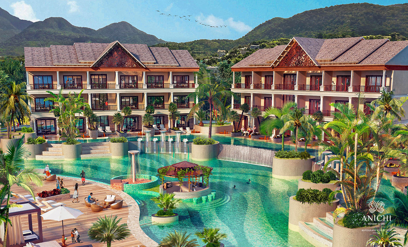 Junior Suite - Resort rendering of the Anichi Resort & Spa