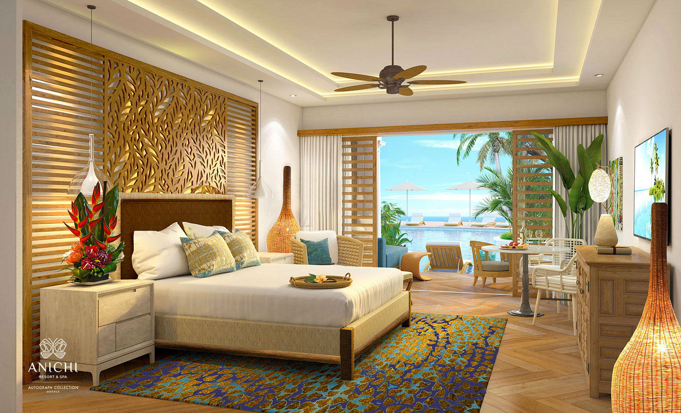 Guest Room - Resort rendering of the Anichi Resort & Spa