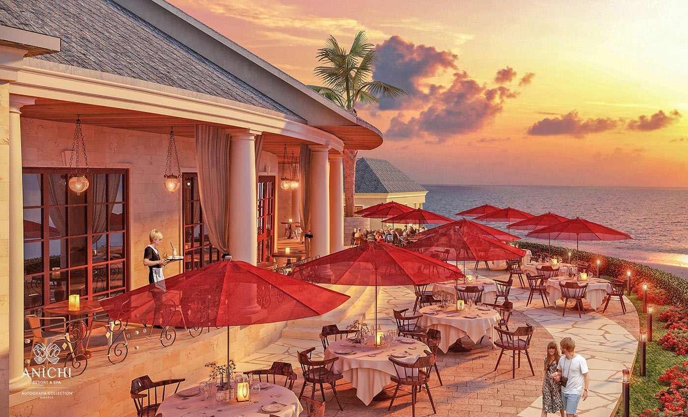 Day Dining - Resort rendering of the Anichi Resort & Spa