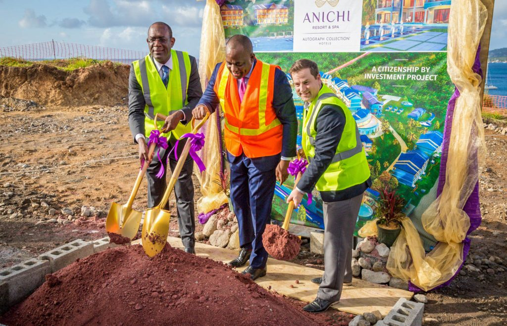 CBI-Funded Anichi Resort & Spa   Officially Breaks Ground in Dominica 4