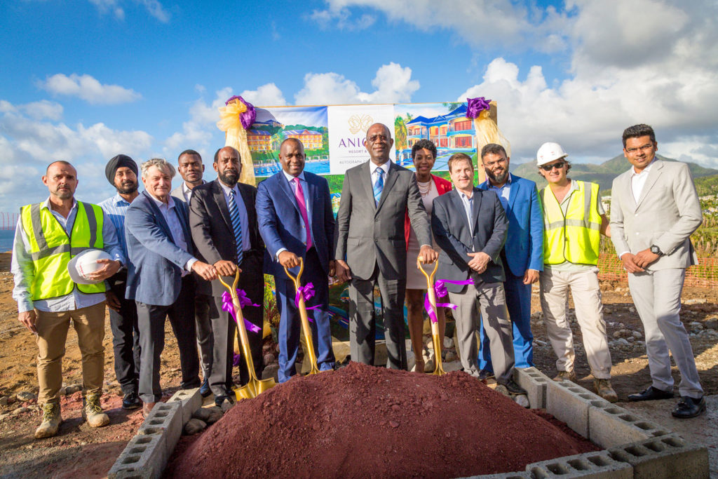 Official Ground-Breaking of Anichi Resort & Spa in Dominica