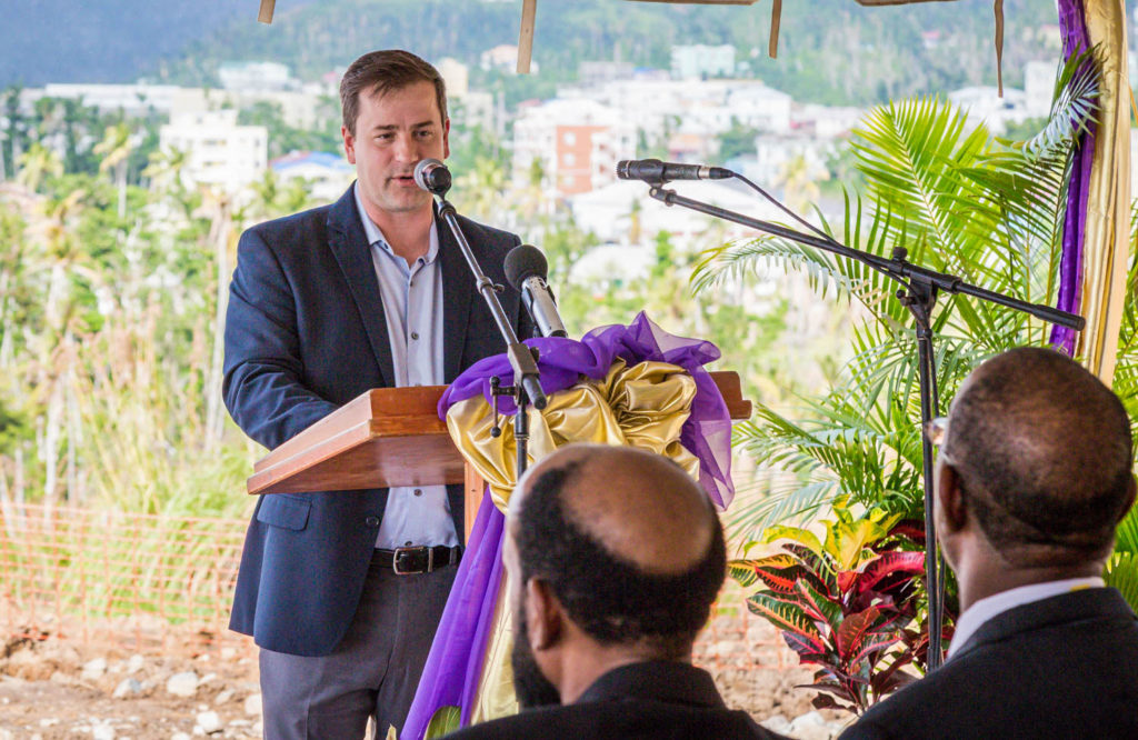 Brock Hochhalter believes the Marriott-Anichi partnership will do great things for Dominica