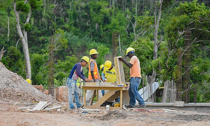 Construction at Anichi Resort & Spa: 27 April 2018