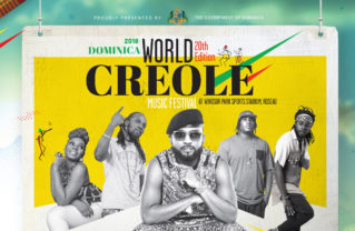 Flyer for Dominica's World Creole Music Festival 2018