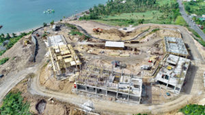 Aerial view of Building 8 at Anichi Resort & Spa