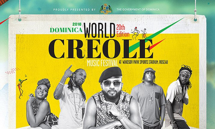 Dominica's World Creole Music Festival Returns for its 20th Year