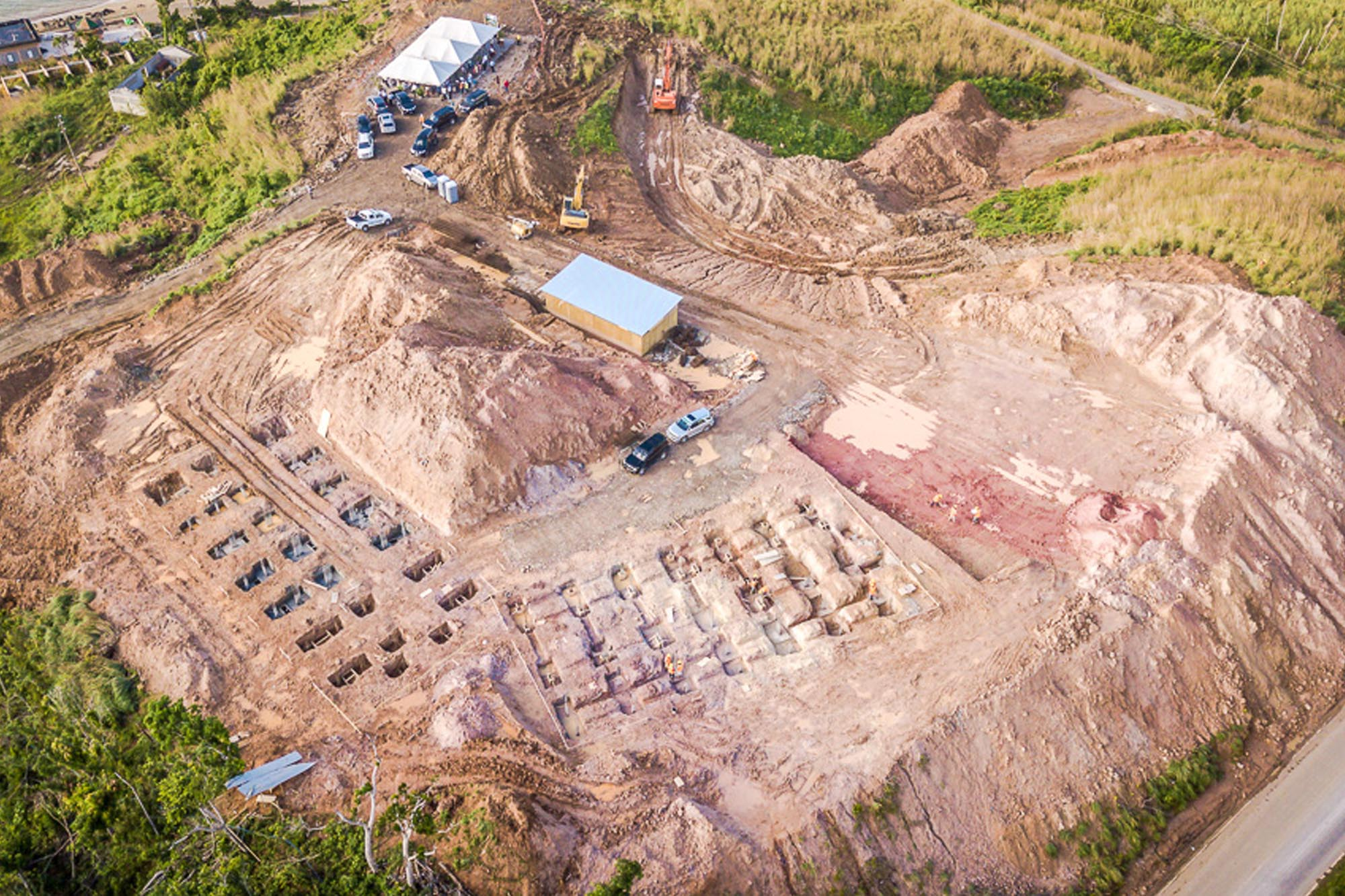Construction progress at Anichi Resort & Spa