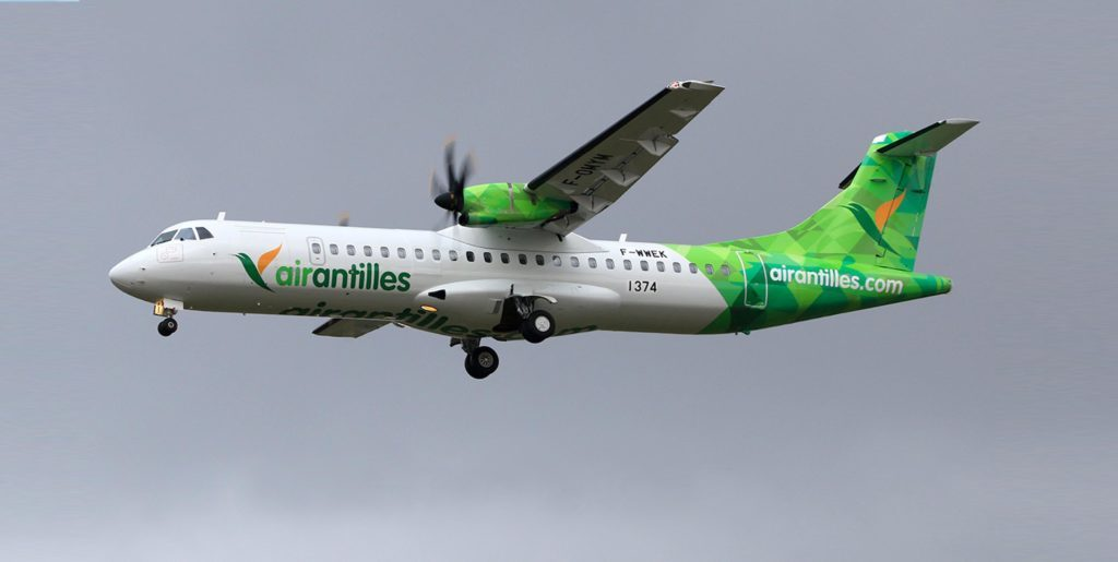 Air Antilles starts flights to Dominica