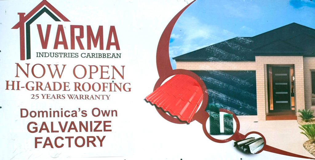 Varma Steel establishes factory in Dominica