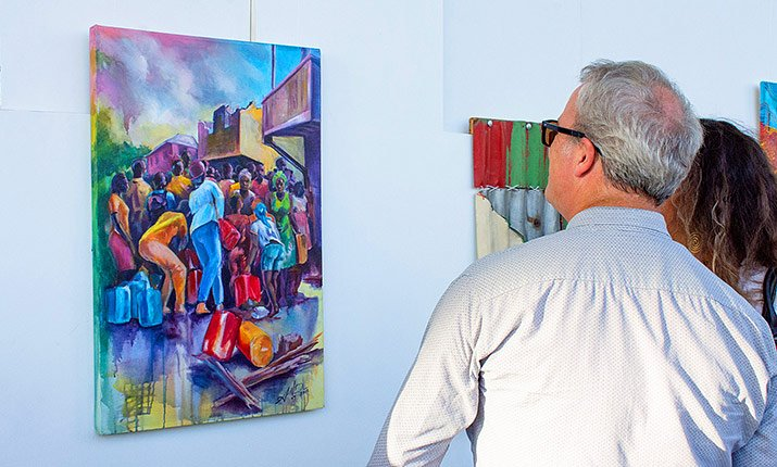 Art Exhibition Celebrates Dominica's Resilience Post Hurricane Maria