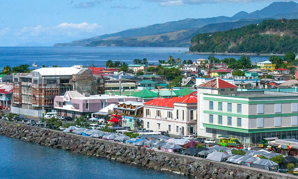 Dominica Climate Resilience: Roseau, Capital of Dominica