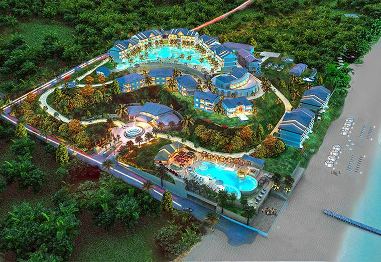 Anichi Resort & Spa - Overall Development Project View
