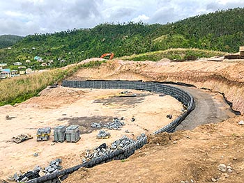 April 27, 2018 Anichi Resort Construction Update: Retaining Wall