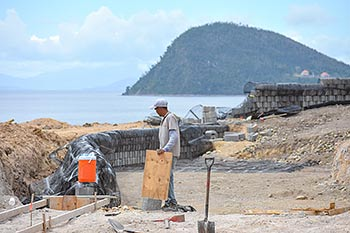 April 27, 2018 Anichi Resort Construction Update: Caribbean Sea View