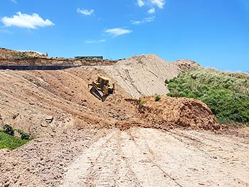 May 15, 2018 Construction Update: Earthworks progress at the North Access to Anichi Resort & Spa