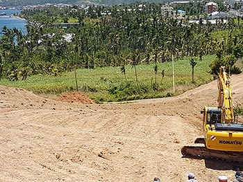 May 15, 2018 Anichi Resort Construction Update: View to the North