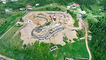 July 19, 2018 Anichi Resort Construction Update - Aerial view