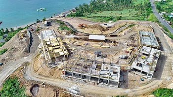 July 19, 2018 Anichi Resort Construction Update: North Aerial View