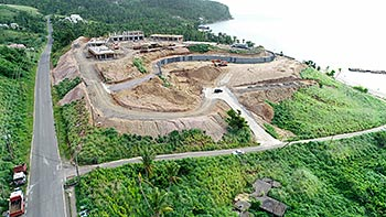 July 19, 2018 Anichi Resort Construction Update: South Aerial View
