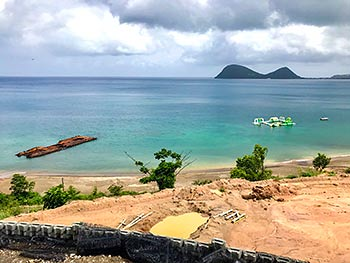 July 19, 2018 Anichi Resort Construction Update: Caribbean Sea View