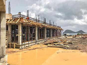 July 19, 2018 Anichi Resort Construction Update: Building