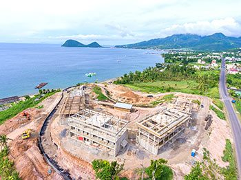 Anichi Resort Construction Update: Aerial View to the West-North - October 17, 2018