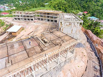 Anichi Resort Construction Update: Aerial View of Buildings at the South - October 17, 2018