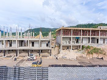 Anichi Resort Construction Update: Close Up View of Buildings at the West - October 17, 2018
