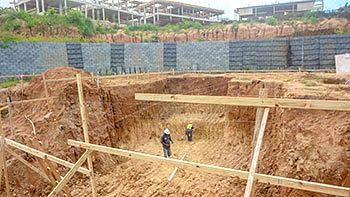 Anichi Resort Construction Update: Ground Work at the North Part of the Construction Site - October 17, 2018