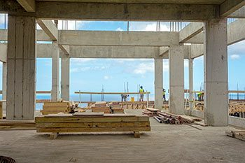 Anichi Resort Construction Update: 2nd Floor with the Caribbean Sea View - October 17, 2018