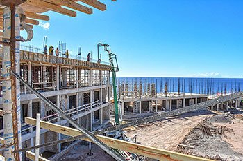 September 17, 2018 Anichi Resort Construction Update: South Side View