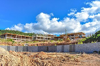 September 17, 2018 Anichi Resort Construction Update: Building 7 to 10