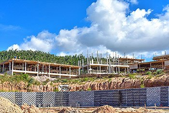 September 17, 2018 Anichi Resort Construction Update: Building 9 and 10