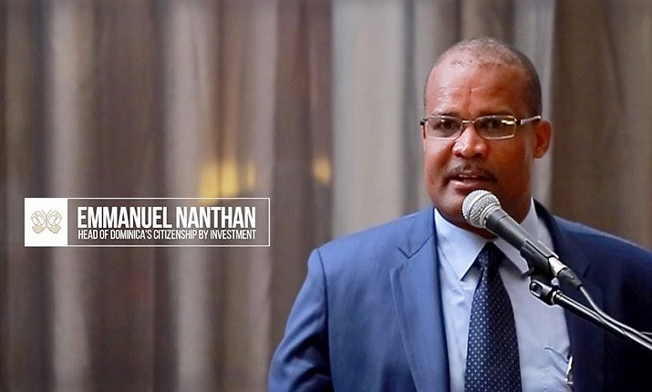 Emmanuel Nanthan - Head of Dominica's Citizenship by Investment