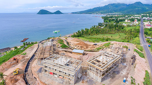 Dominica Citizenship by Investment Project Construction Update: Anichi Resort & Spa – Oct 17, 2018