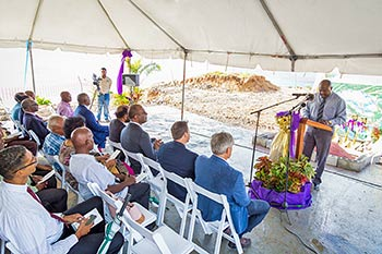 Parliamentary Representative for Portsmouth, Hon. Ian Douglas believes the resort will bring economic benefits to the community