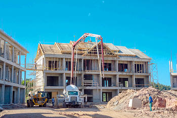 Building 8 - December 17, 2018 Anichi Resort & Spa Construction Site