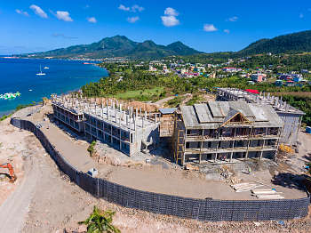 Building 6, 7, 8 - December 17, 2018 Anichi Resort & Spa Construction Site