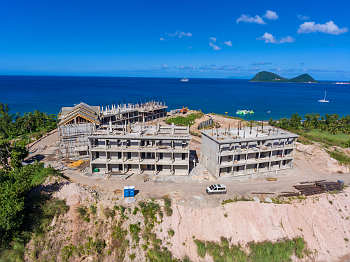 Building 9 and 10 - December 17, 2018 Anichi Resort Construction Site