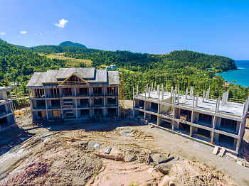 Building 7 and 8 - December 17, 2018 Anichi Resort Construction Site