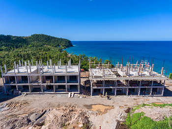 Building 6 and 7 - December 17, 2018 Anichi Resort Construction Site