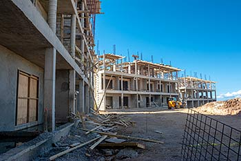Buildings 6 and 7 - January 21, 2019 Anichi Resort Construction Site