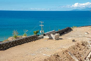 Caribbean Sea -January 21, 2019 Anichi Resort Construction Site