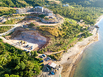 February 17, 2019 Anichi Resort Construction Site: Aerial View