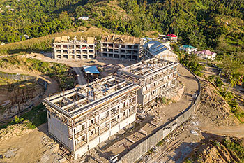 February 17, 2019 Anichi Resort Construction Site: Buildings 6 and 7