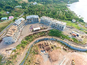 March 11, 2019 Anichi Resort Construction Site: Aerial View